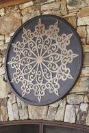 Ashley Oenomaus Black/Silver/Gold Finish Wall Decor