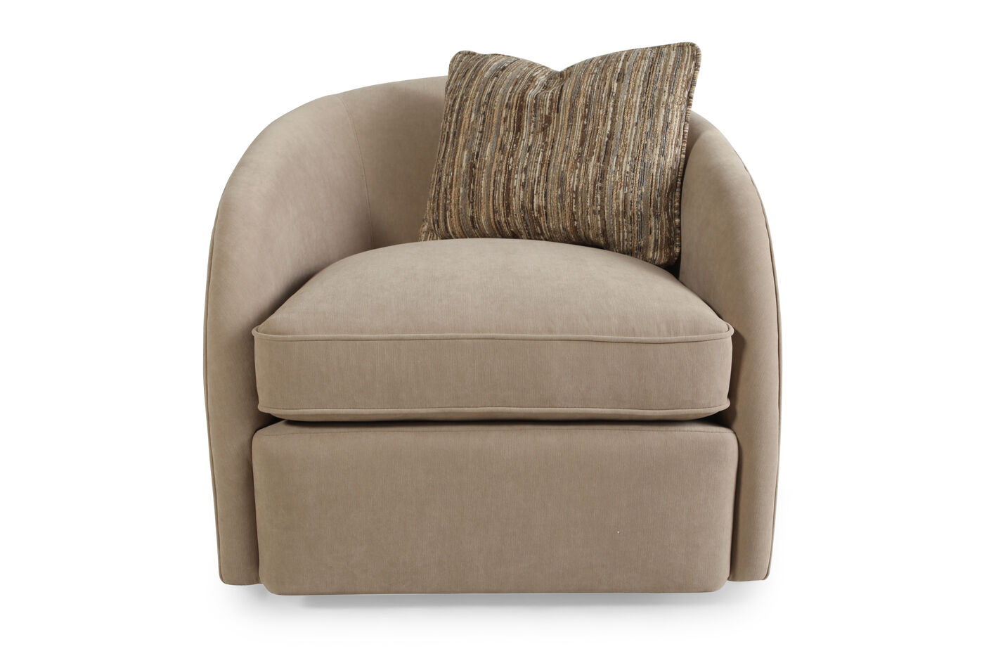 Bernhardt turner swivel chair mathis brothers furniture for Swivel chairs
