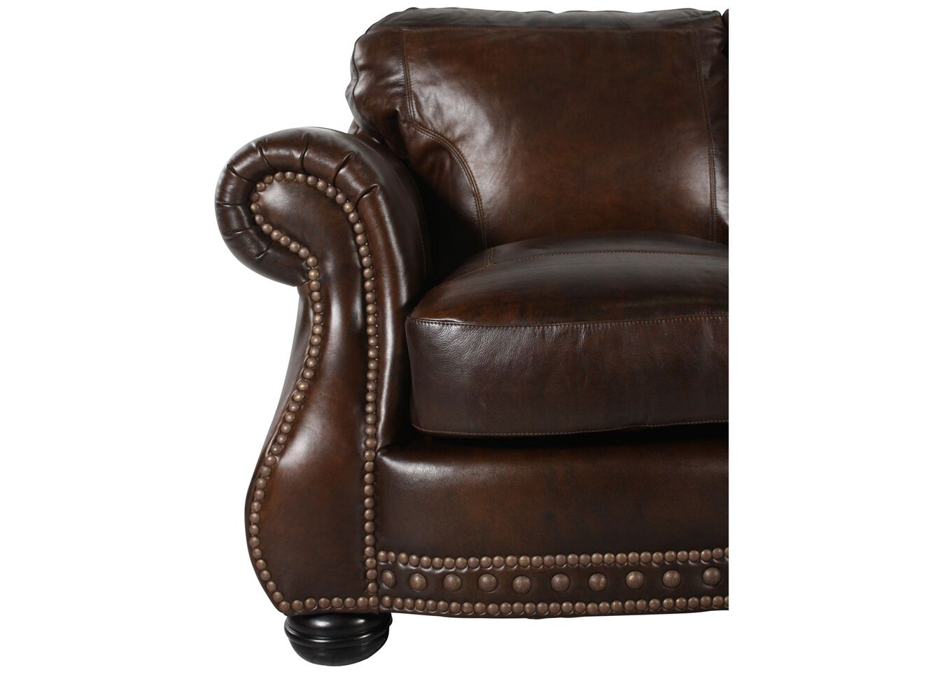 Usa leather cowboy sofa mathis brothers furniture Cowboy sofa