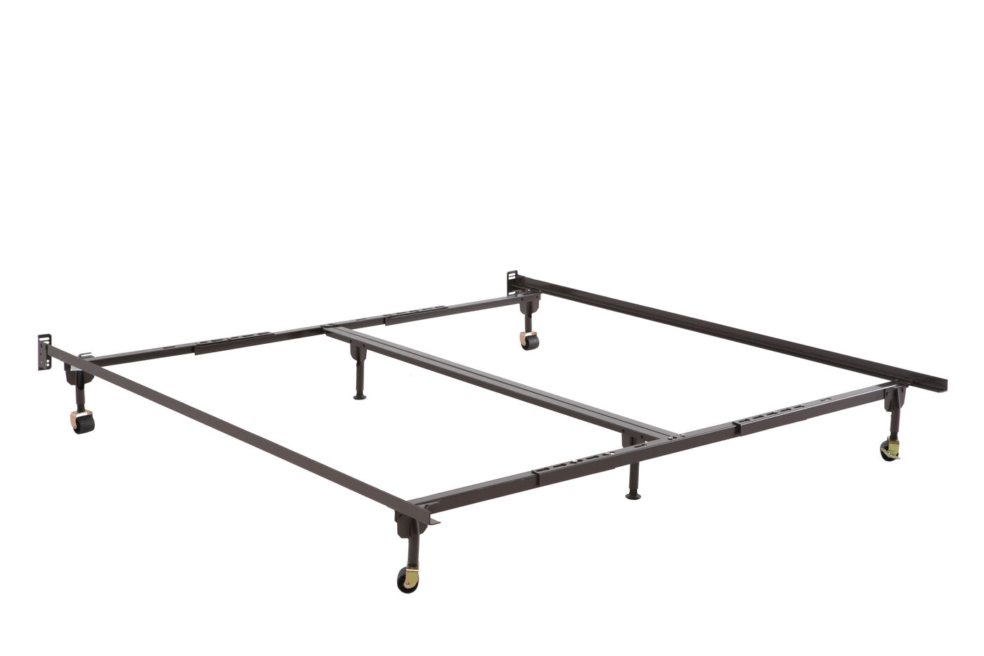 glideaway queenking bed frame with six legs - Glideaway Bed Frames