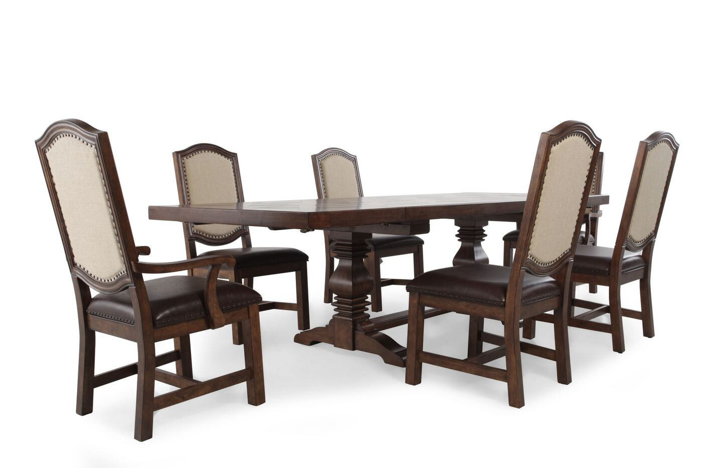 Samuel Lawrence American Attitude Seven-Piece Dining Table ...