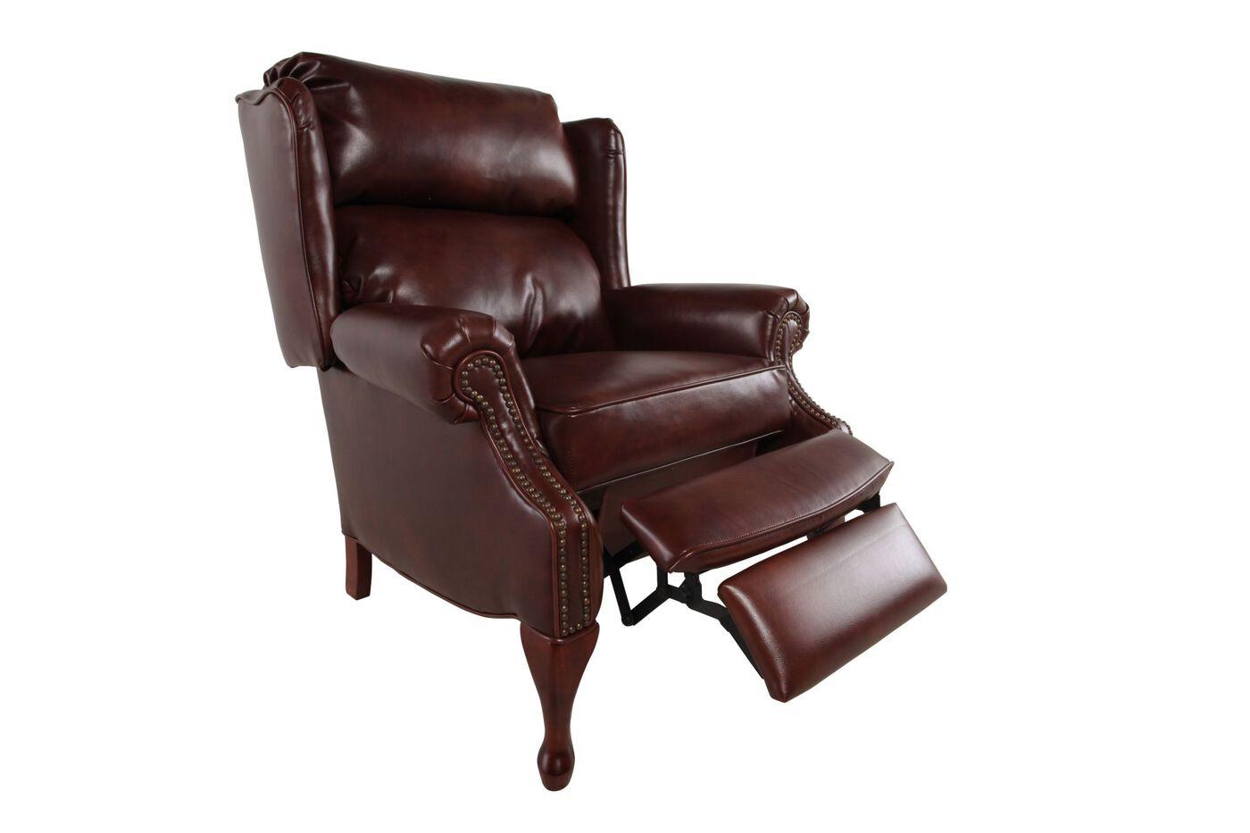 Lane Classics Savannah Pecan Recliner Mathis Brothers Furniture