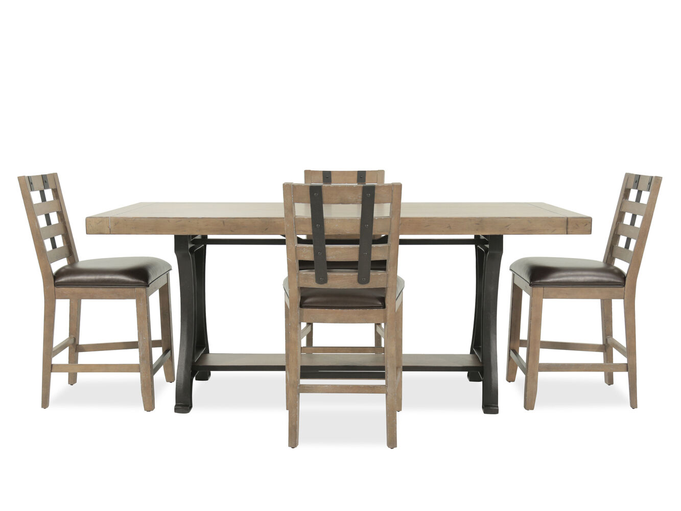 Samuel Lawrence FB Avenue Five-Piece Dining Set | Mathis Brothers ...