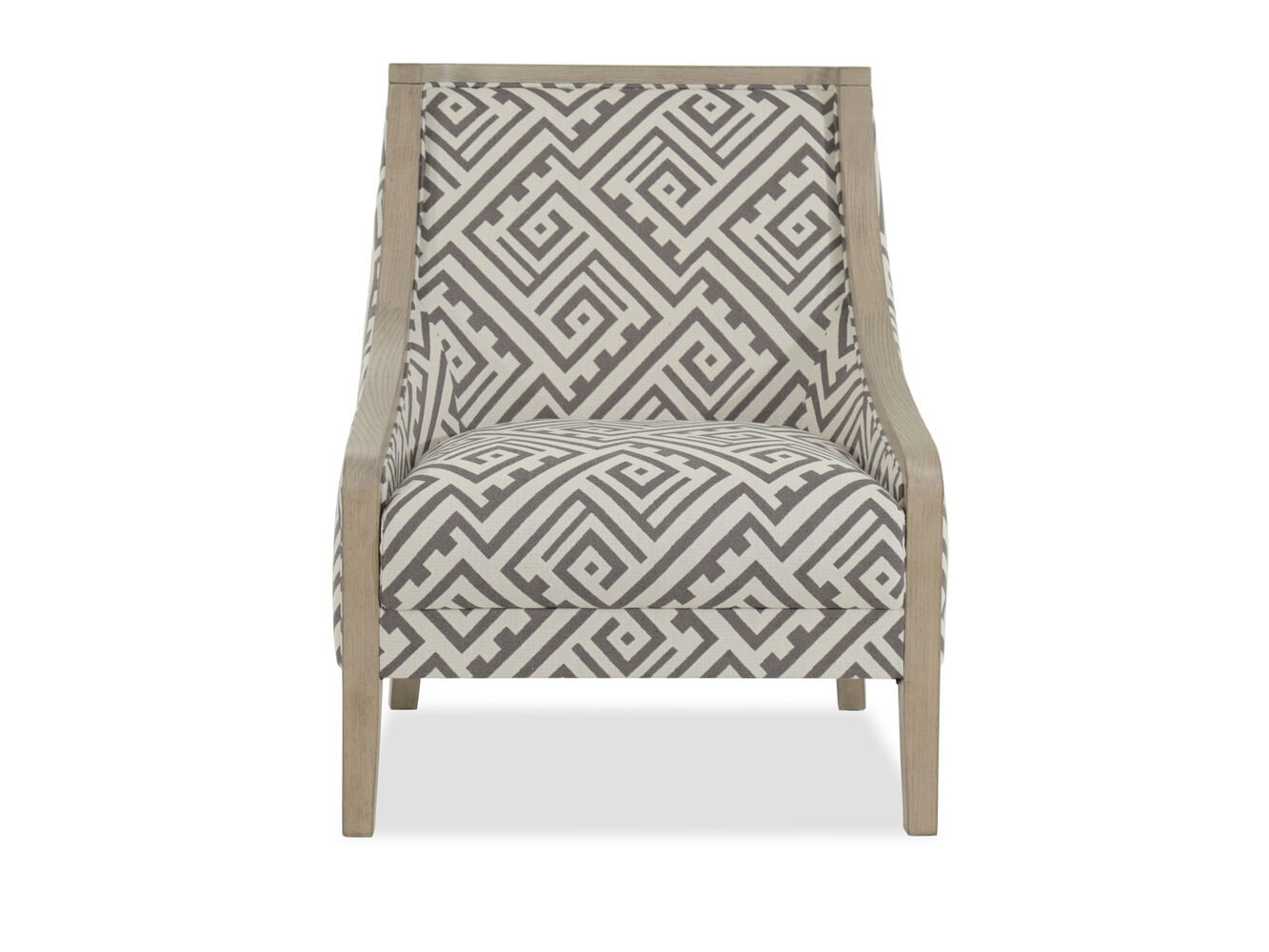boulevard geometric accent chair mathis brothers furniture