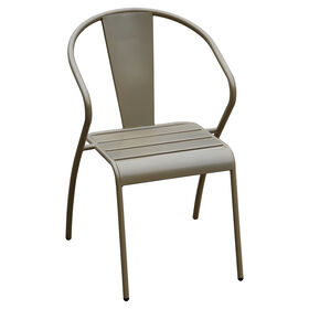 Picture of Gold Round Back Stack Chair