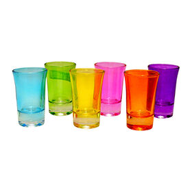 Picture of Conquer Color Shot Glass Set - set of 6