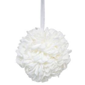 Picture of 10IN KISSING BALL WHITE