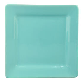 Picture of S/4 SQR SALAD PLATE TURQ