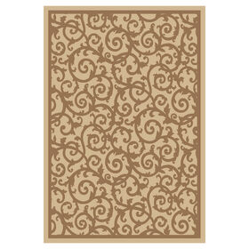 Picture of Beige and Brown Navarre Rug 3 X 5 ft