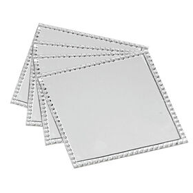 Picture of Diamond Rimmed Coasters, Set of 4
