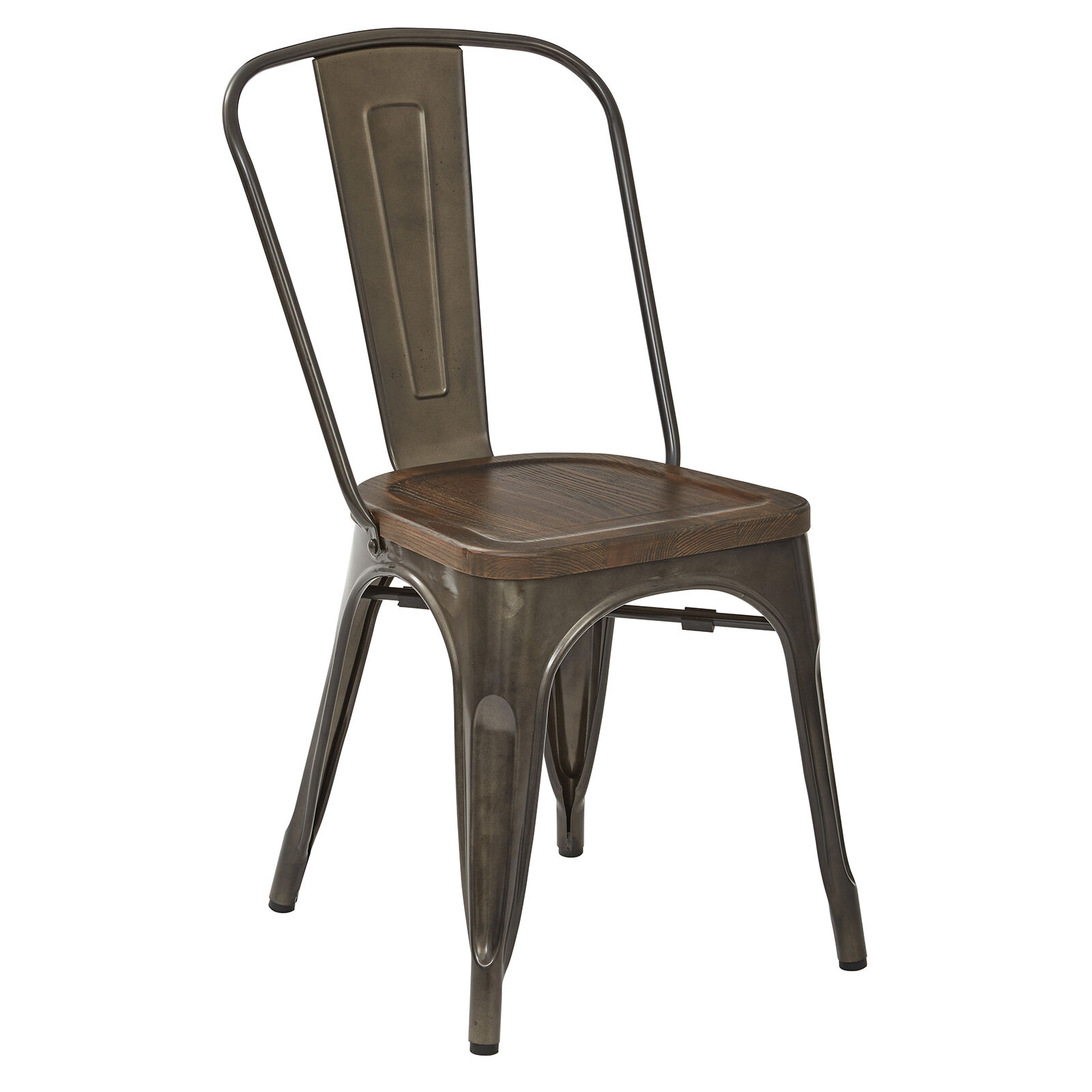 Dublin Metal Dining Chair At Home