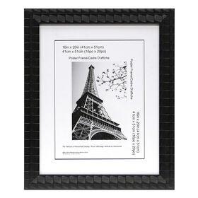 Picture of 16 X 20-in Black Mosaic Poster Frame