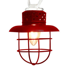 Picture of 10CT RED FISHER LANTERN
