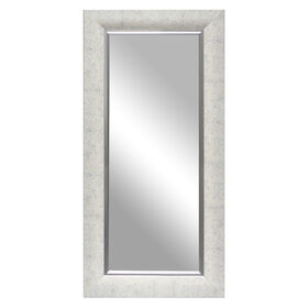 Picture of 24 X 58-in White and Silver Kristen Mirror