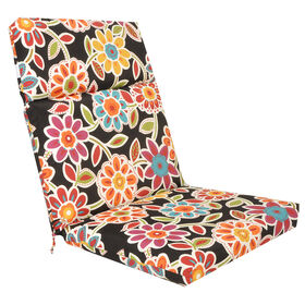 Picture of Wilder Ebony Steel Hinged Chair Cushion