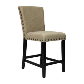 Picture of Tan Wyatt High Barstool - Set of 2