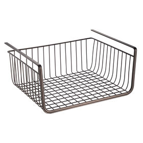 Picture of York Lyra Under Shelf Basket, Bronze