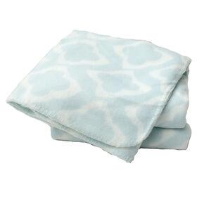 Picture of Diamante Light Blue Pet Throw Blanket