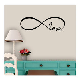 Picture of 9X28 INFINITY LOVE DECAL