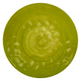 Picture of Green Spanish Tile Melamine Dinner Plate