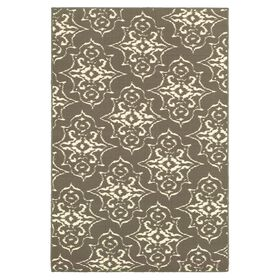 Picture of Gray Arabesque Exeter Accent Rug 26 X 45-in