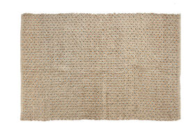 Picture of B191 Blue Criss Cross Jute Rug