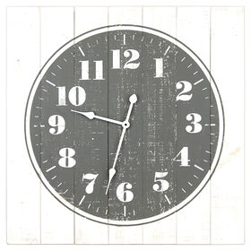 Picture of GC 30X30 PALLET CLOCK GRY/WHT