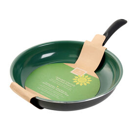 Picture of Gibson Home 12-in Open Fry Pan - Green and Matte Gray