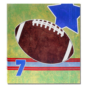 Picture of 22 X 22-in Football Studio Art