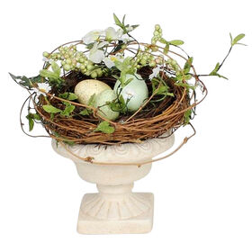 Picture of Twig Nest in Pedestal Bowl
