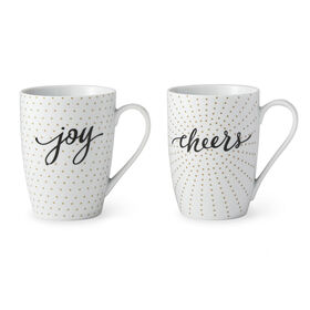 Picture of Joy & Cheers Mugs- Set of 2