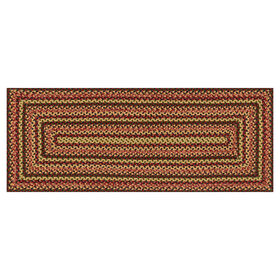 Picture of Red Braided Multicolor Runner