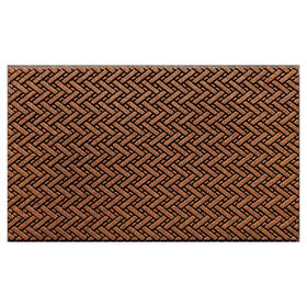 Picture of Walnut Shell Tracks Doormat 18 X 30-in
