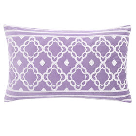 Picture of Purple Mineral Skies Chris Pillow - 13 X 22