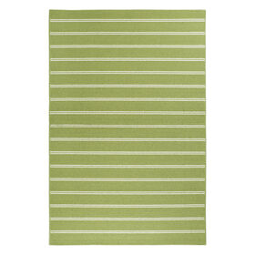 Picture of E88 Green Avery Stripe Rug- 3x5 ft