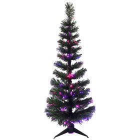 Picture of SL4 4 ft Pre-Lit Wilson Fir Fiber Optic Christmas Tree