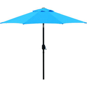 Picture of 7.5-ft. Crank Tilt Umbrella, Aqua