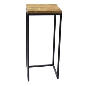 Picture of Wood-Top Metal Plant Stand - Medium (Sold Separately)