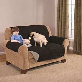 Picture of Love Seat Pet Protector- Black & Grey