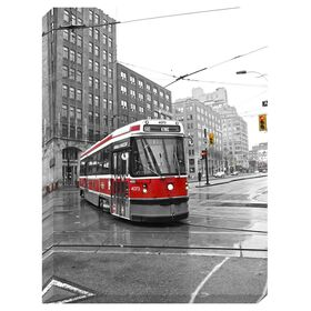 Picture of Street Car Canvas Art Photography- 45x60 in.