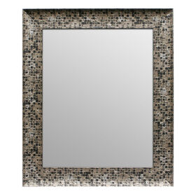 Picture of 22 X 28-in Pewter and Gray Beveled Olivia Mirror