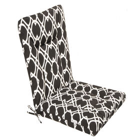 Picture of Elipse Noir Wrought Iron Hinged Chair Cushion
