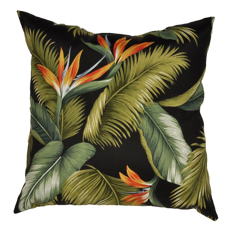 Ocean Point Ebony Square Pillow