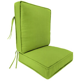 Picture of Grass Green 2 Piece Deep Seat Cushion