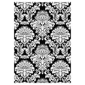 Picture of Black and White Castle Hill Rug 7 X 10 ft