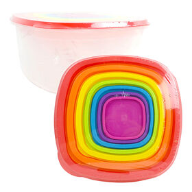Picture of Rainbow Square Storage Set- 14-Pieces