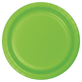 Picture of LIME 7IN SALAD PLATE 24CT