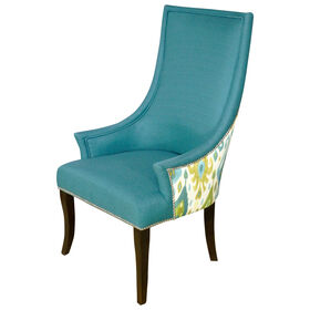 Picture of Chatham Chair - Taraji Blue Two-Tone
