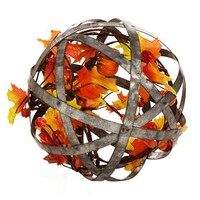 Picture of 8in Galvanized Metal Floral Sphere