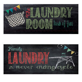 Picture of Laundry Room Accent Art- 20x8 in.